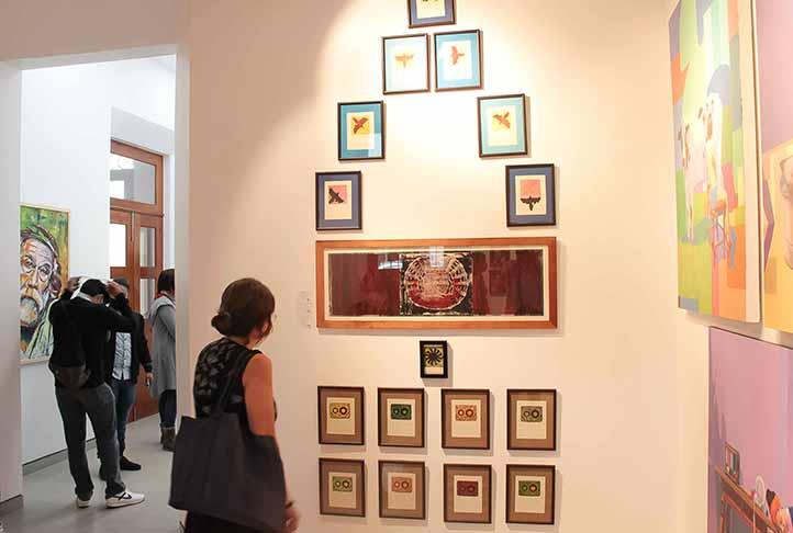 En la exposición participan artistas de Veracruz y el Estado de México