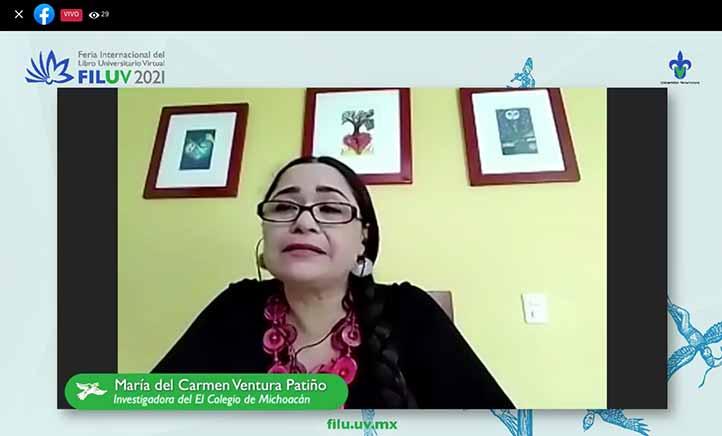 María del Carmen Ventura, profesora-investigadora del Centro de Estudios Rurales de El Colegio de Michoacán