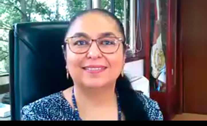 La rectora Sara Ladrón de Guevara destacó la coordinación entre las tres facultades de Psicología, así como la celebración del Día del Psicólogo