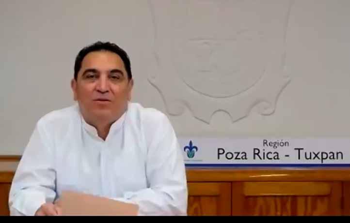 José Luis Alanís Méndez, vicerrector de la región Poza Rica-Tuxpan, subrayó la importancia del trabajo coordinado de las tres regiones universitarias