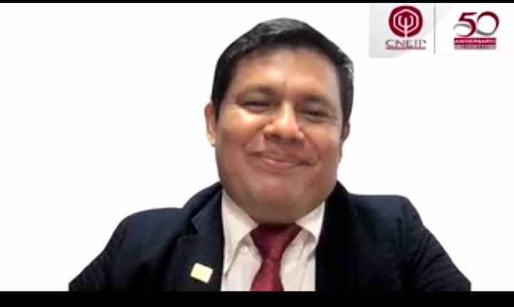 Juan Grapain Contreras, presidente del CNEIP, calificó al evento como un espacio de reflexión sobre la profesión en México