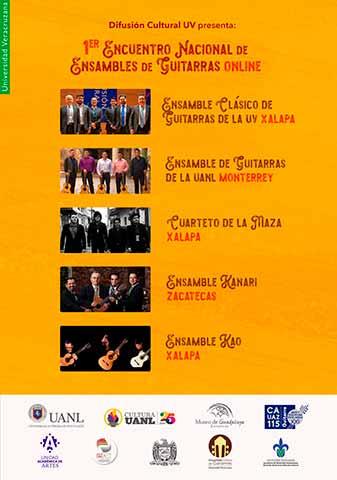 En el evento participarán grupos artísticos de Veracruz, Nuevo León y Zacatecas