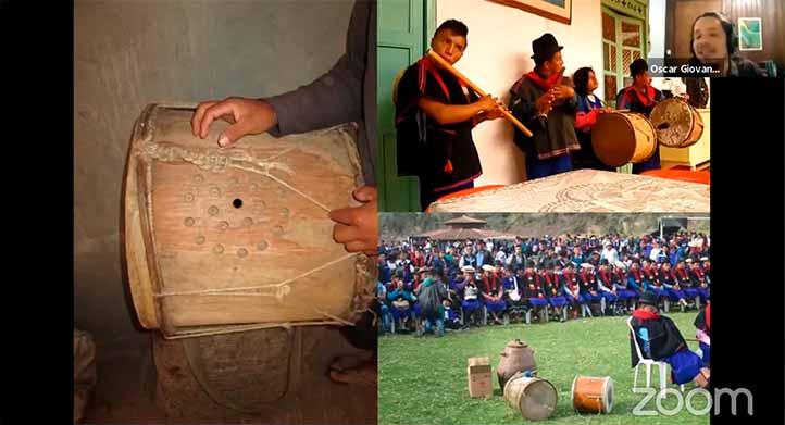 Oscar Giovanni Martínez, de Colombia, trabajó con los músicos y disc-jockeys del pueblo Misak en su país natal