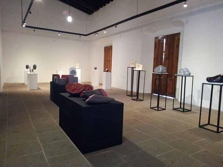 La exposición reúne a artistas de Japón, Serbia y México (Foto: Ryuichi Yahagi)