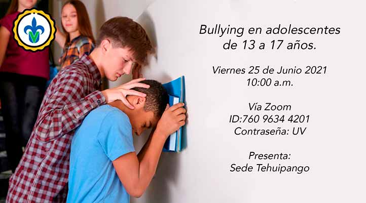 """La última plática de la tercera ronda será """"Bullying en adolescentes, de 13 a 17 años"""", por la BUSS de Tehuipango"""