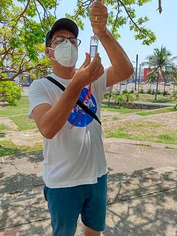 Evaluación de la concentración de oxígeno en agua
