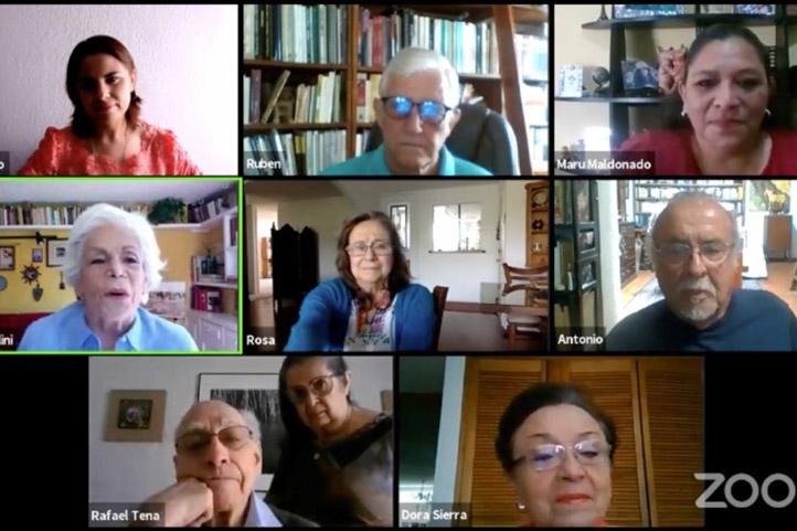 """Participantes en la mesa virtual """"El Golfo y sus caracteres culturales"""""""