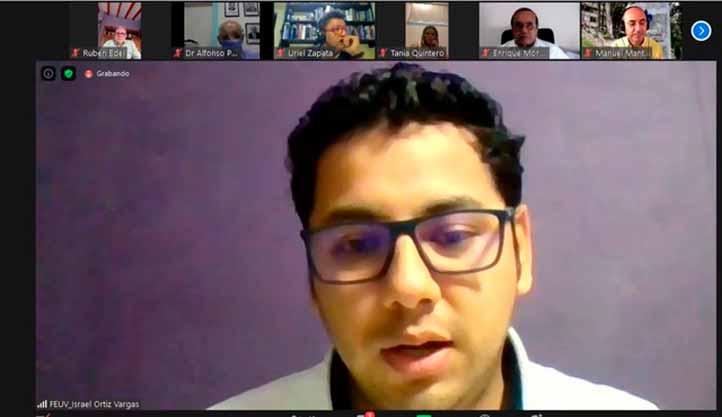 El profesor Israel Ortiz señaló que el curso dejó sentadas las bases y herramientas para la planeación de las experiencias educativas de los docentes