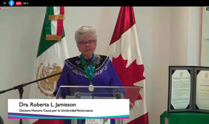 Roberta L. Jamieson dictó conferencia magistral en el II Congreso de Políticas Universitarias de Género, Interculturalidad e Inclusión