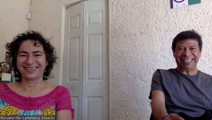 Rossana Inés Castellanos y Miguel Ángel Escalona Aguilar