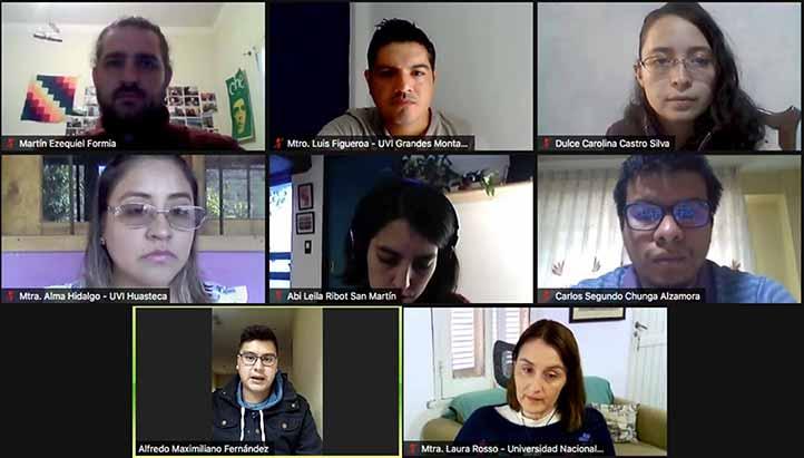 Alumnos de diversas instituciones compartieron sus experiencias de movilidad en la UVI