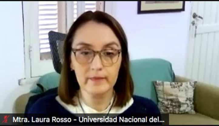 Laura Rosso, académica de la UNNE de Argentina, destacó el modelo de gestión de la UVI a nivel latinoamericano