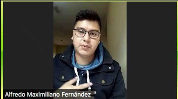 Alfredo Fernández, alumno de la UNNE de Argentina, realizó su estancia en UVI sede Huasteca