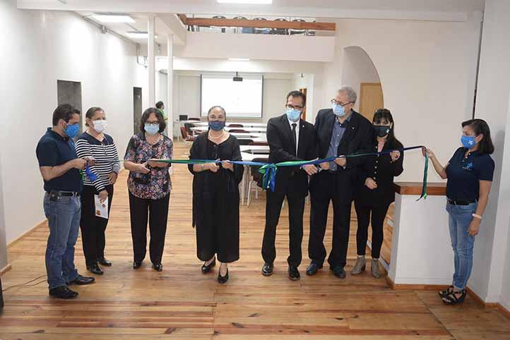 Autoridades universitarias inauguraron las instalaciones anexas de la EEE