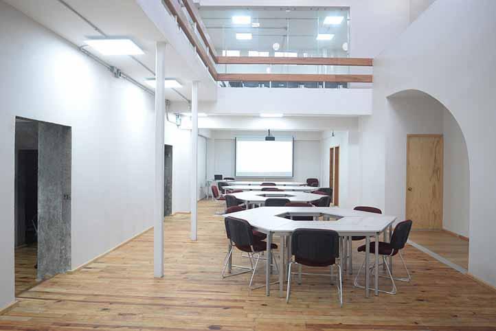 Nueva sala multifuncional de la EEE