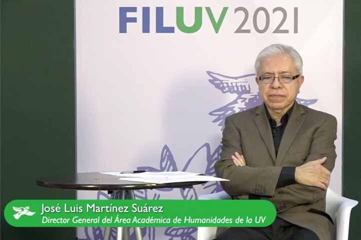 José Luis Martínez Suárez, presidente del Consejo Editorial de la Biblioteca Digital de Humanidades