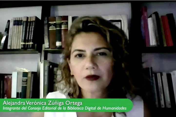 Alejandra Verónica Zúñiga Ortega, integrante del Consejo Editorial