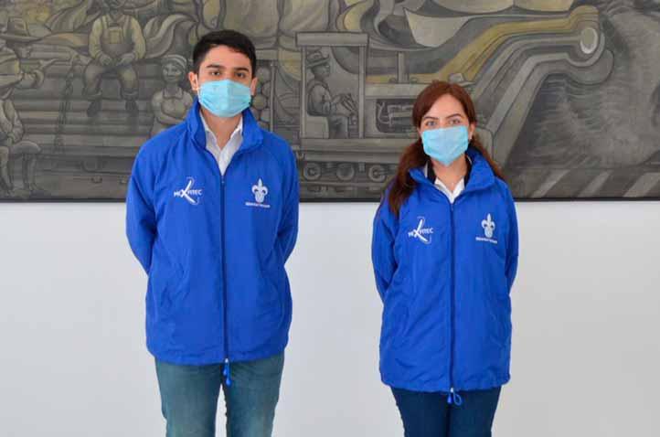 Rafael Rojas y Brenda Alejandra Cruz realizarán estancia en universidades de Francia