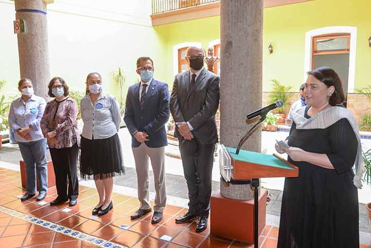 Lourdes Budar agradeció la designación de este espacio para las actividades interculturales
