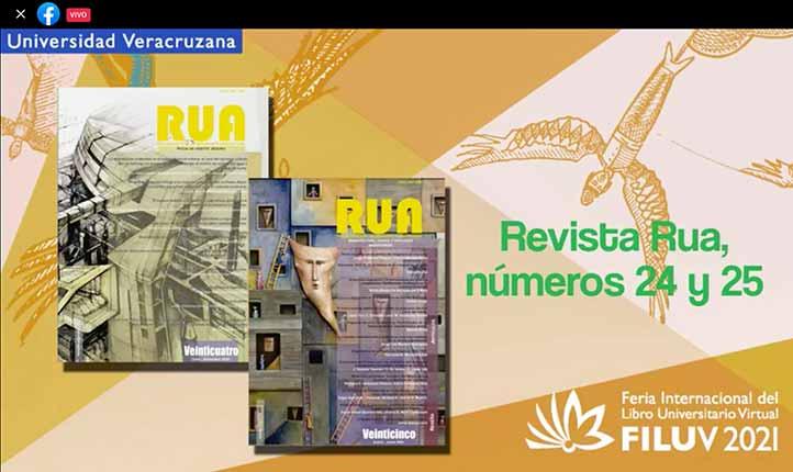 La Facultad de Arquitectura presentó en la FILU los números 24 y 25 de su revista RUA