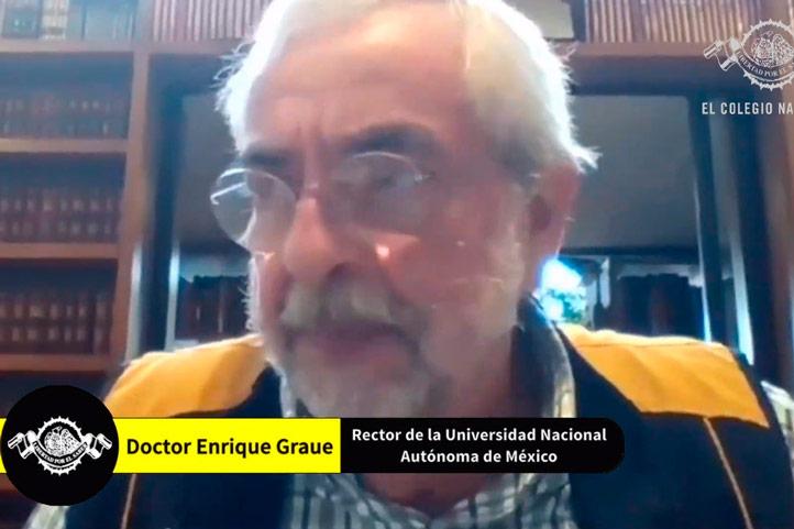Participó el rector de la UNAM, Enrique Graue