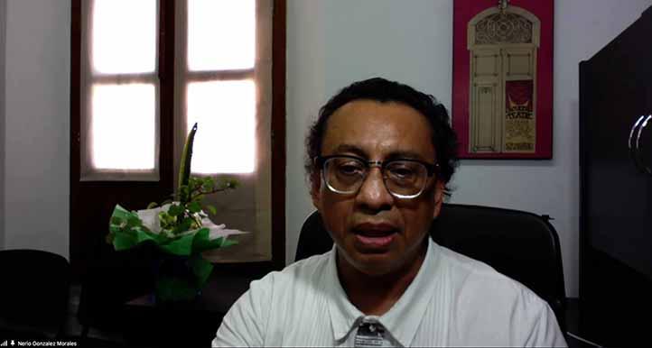 Nerio González Morales, director de la Facultad de Teatro