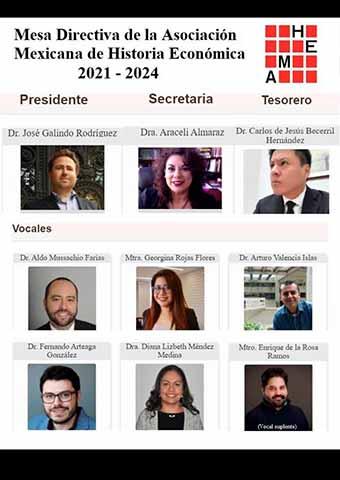 En la mesa directiva de la presidencia hay destacados académicos que imparten cátedra en México y otros países