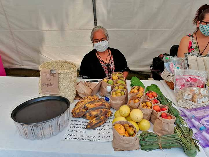Productores del Tianguis Agroecológico de Xalapa participaron en el programa Reactiva Xalapa expo#ConsumeLocal