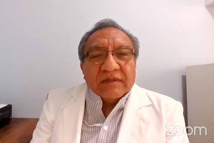 """Juan Sandoval Vilchez impartió la ponencia """"Perspectivas de la psicología de la salud en tiempos de pandemia por la Covid-19"""""""