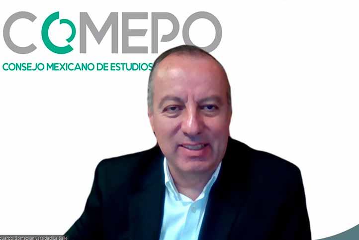 Eduardo Gómez Ramírez, presidente del Comité Directivo del Comepo