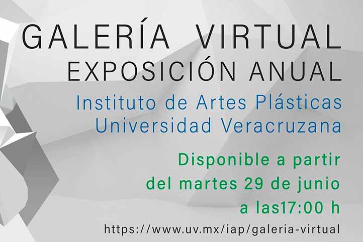 El sitio www.uv.mx/iap/galeria-virtual estará disponible a partir del 29 de junio