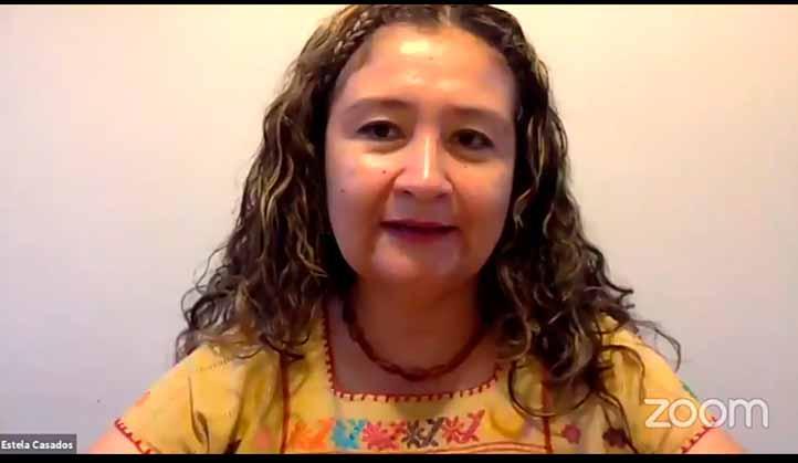 Estela Casados González, responsable del Observatorio Universitario de Violencia contra las Mujeres