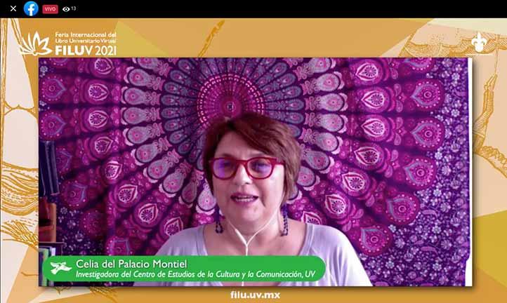 Celia del Palacio dijo que el libro muestra la historia de los periodistas víctimas de la violencia