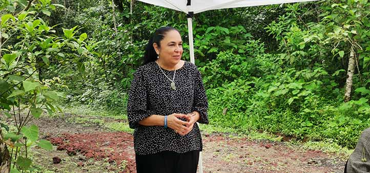 Sara Ladrón de Guevara destacó que las investigaciones y trabajos de la UV trascienden los periodos rectorales