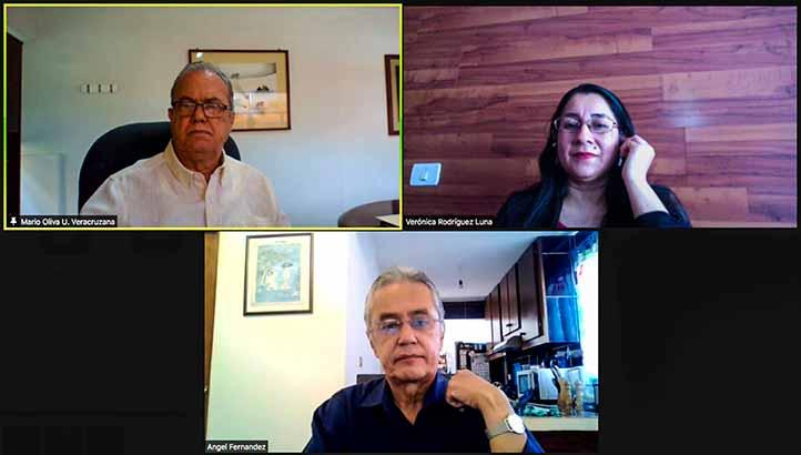 Mario Oliva, Verónica Rodríguez y Ángel Fernández destacaron el papel de la UV a nivel latinoamericano en materia de internacionalización