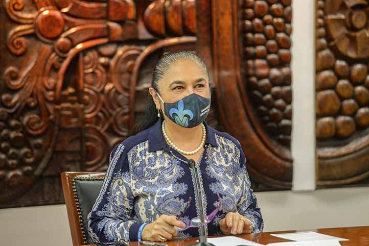 La rectora Sara Ladrón de Guevara destacó los avances en las regiones universitarias en el tema de la sustentabilidad