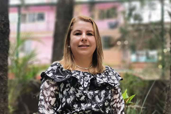 Elia María Beltrán Coronel, titular del Voluntariado UV