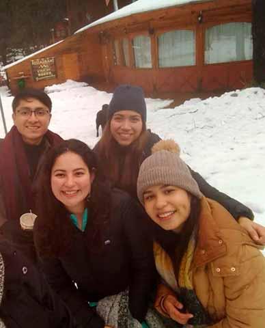 Los jóvenes estuvieron en Chillán, región de Ñuble,