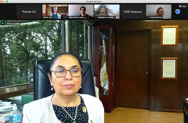Sara Ladrón de Guevara dijo que el quehacer del CIMI tiene relación con el compromiso de la Universidad frente a la excelencia