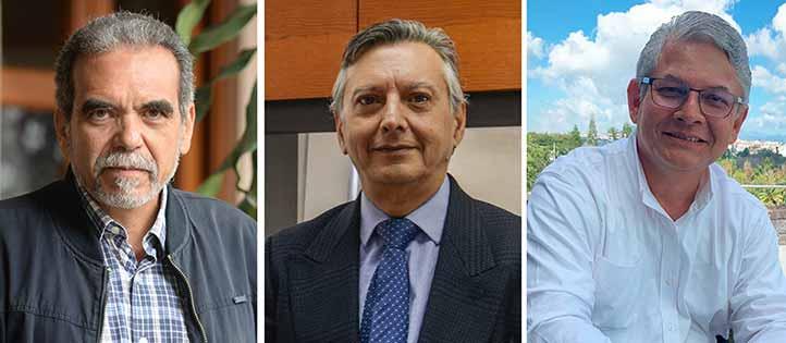 Martín Aguilar, Héctor Coronel y Jorge Manzo son los candidatos a la Rectoría de la UV