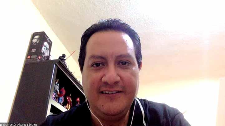 Ervin Jesús Álvarez Sánchez, coordinador del Doctorado en Ingeniería de la FIME-UV