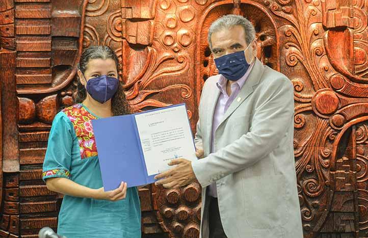 Anabel Ojeda Gutiérrez coordinará la Unidad de Género