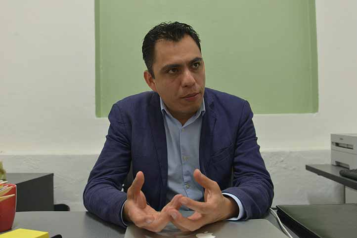 Juan Rafael Alcalá Hinojosa, titular de la DGDC