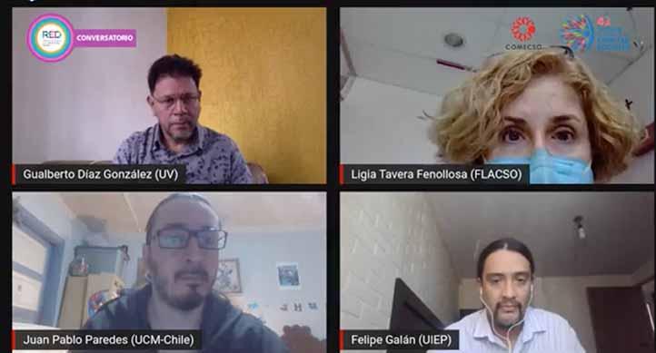 Los participantes reflexionaron sobre el desarrollo de la investigación en tiempos de pandemia