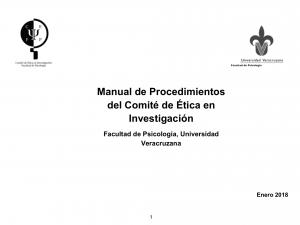 Manual de procedimientos. Documentos de descarga.