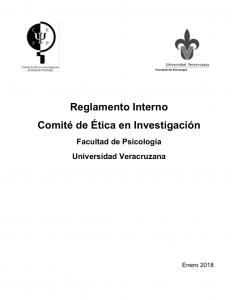 Reglamento Interno. Documento de descarga