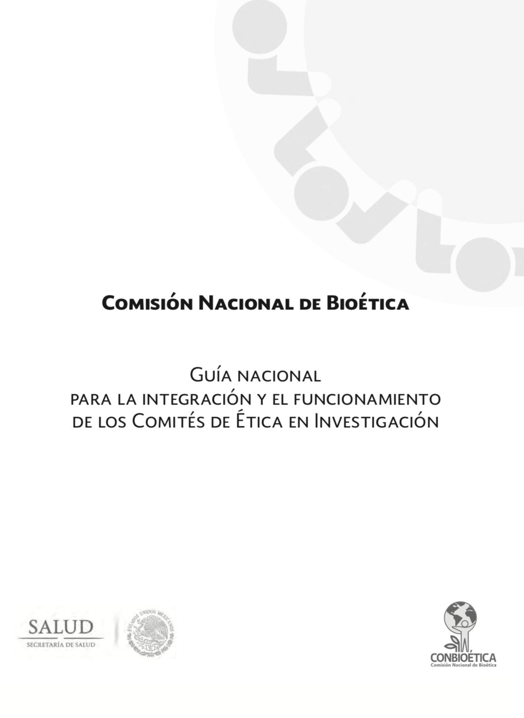Guía de CONBIOÉTICA. Documento de descarga
