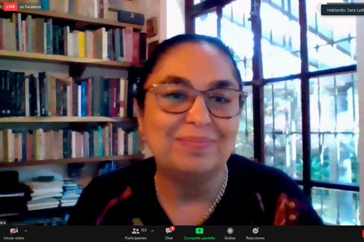 Sara Ladrón de Guevara inauguró la cátedra
