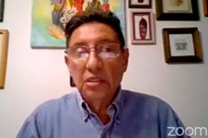 """José Manuel Velasco dictó la ponencia """"Ruy Pérez Tamayo en la ciencia y en la historia"""""""