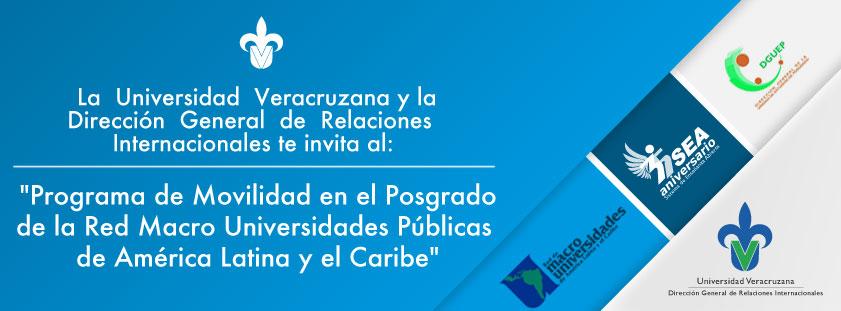 Programa de Movilidad en el Posgrado de la Red Macro Universidades Públicas de América Latina y el Caribe